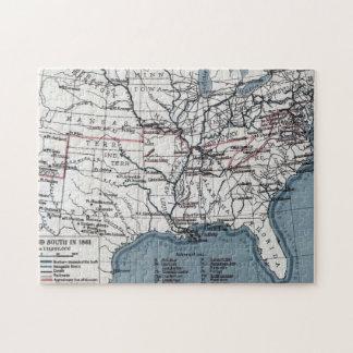 MAP: CIVIL WAR, 1861 JIGSAW PUZZLE