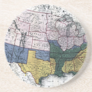 MAP: CIVIL WAR, 1864 COASTERS