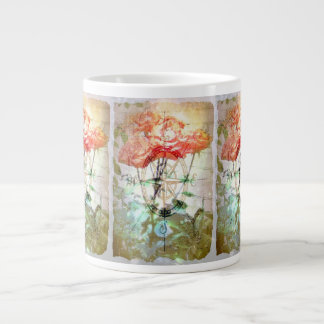 Map, Compass, Roses Jumbo Mug