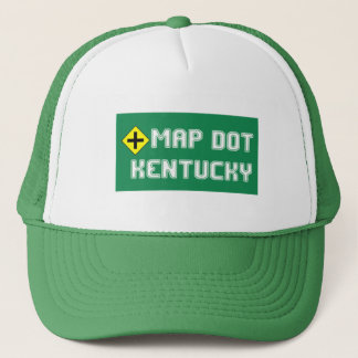 Map Dot Trucker's Hat