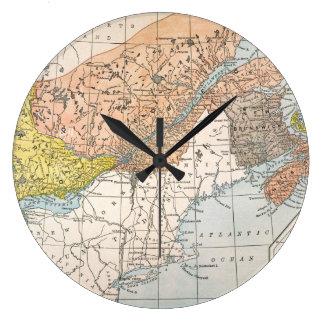 MAP: EASTERN CANADA CLOCKS