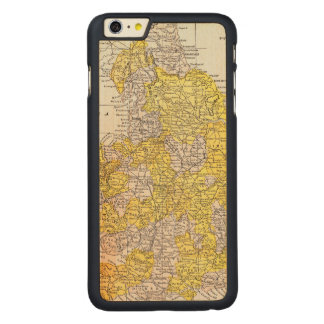 MAP: ENGLAND & WALES CARVED® MAPLE iPhone 6 PLUS CASE