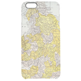 MAP: ENGLAND & WALES CLEAR iPhone 6 PLUS CASE