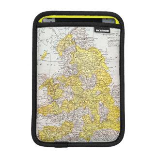 MAP: ENGLAND & WALES iPad MINI SLEEVE