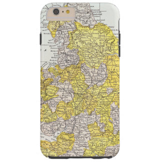 MAP: ENGLAND & WALES TOUGH iPhone 6 PLUS CASE