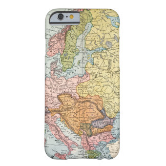 MAP: EUROPE, 1885 BARELY THERE iPhone 6 CASE