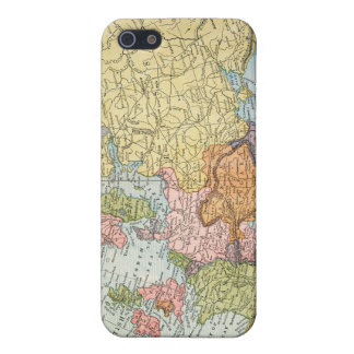 MAP: EUROPE, 1885 iPhone 5/5S COVER