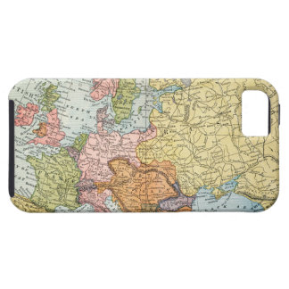 MAP: EUROPE, 1885 iPhone 5 CASES