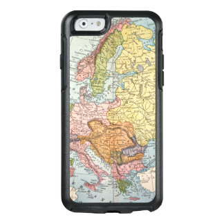MAP: EUROPE, 1885 OtterBox iPhone 6/6S CASE