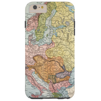 MAP: EUROPE, 1885 TOUGH iPhone 6 PLUS CASE