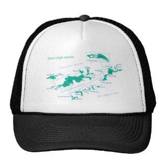 Map/FLAG British Virgin Islands Cap