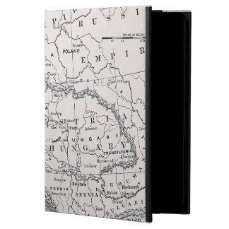 MAP: GERMANY AND AUSTRIA CASE FOR iPad AIR