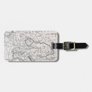 MAP: GERMANY AND AUSTRIA LUGGAGE TAG