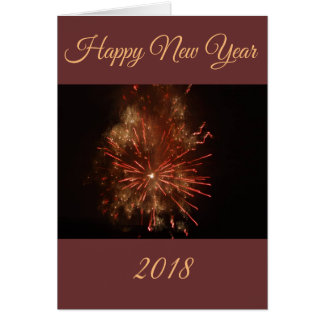 "Map ""Happy new Year"" by forest elf Card"