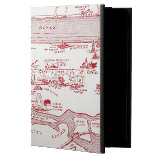 MAP: MANHATTAN, c1935 iPad Air Cases