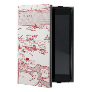 MAP: MANHATTAN, c1935 iPad Mini Case
