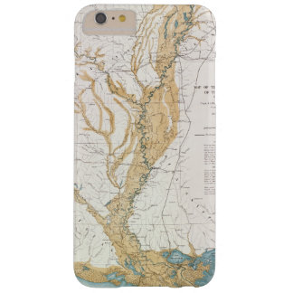 MAP: MISSISSIPPI RIVER, 1861 BARELY THERE iPhone 6 PLUS CASE