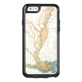 MAP: MISSISSIPPI RIVER, 1861 OtterBox iPhone 6/6S CASE