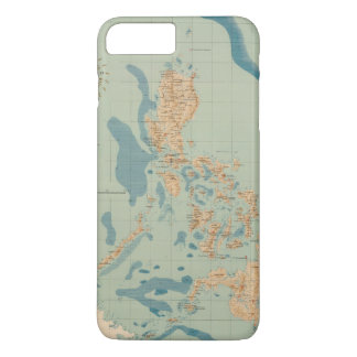 Map No 4 orographic iPhone 7 Plus Case