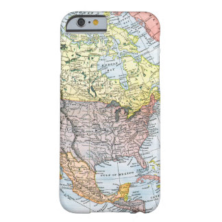 MAP: NORTH AMERICA, 1890 BARELY THERE iPhone 6 CASE