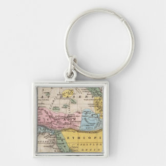 Map of Africa Key Chains