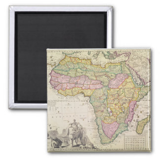 Map of Africa Magnet