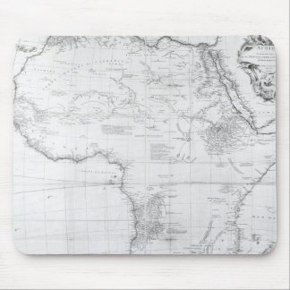 Map of Africa Mouse Pad