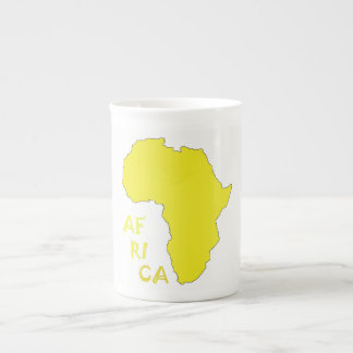 Map of Africa Mug