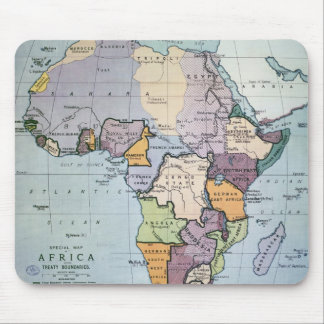 Map of Africa showing Treaty Boundaries, 1891 Mouse Pad