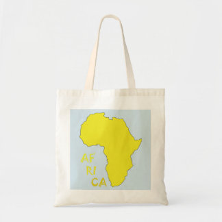 Map of Africa Tote Bag