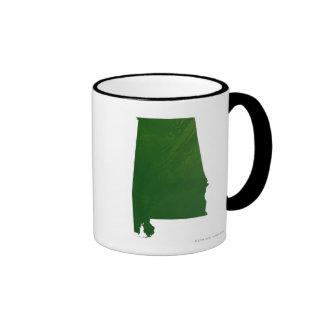 Map of Alabama Coffee Mug