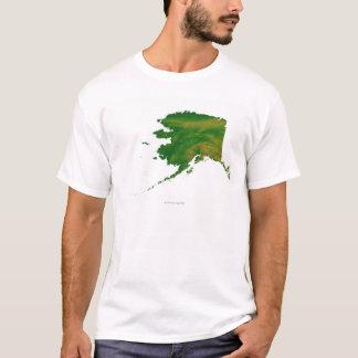 Map of Alaska 2 T-Shirt
