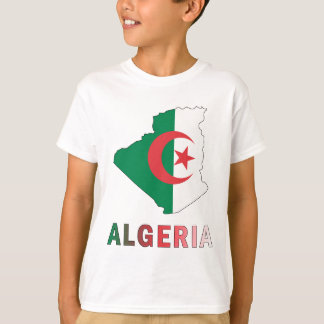 Map Of Algeria T-Shirt