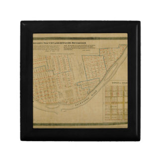 Map Of Allegheny 1863 Gift Box