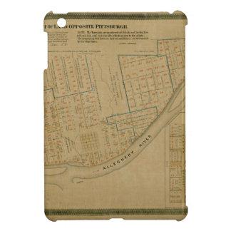 Map Of Allegheny 1863 iPad Mini Case