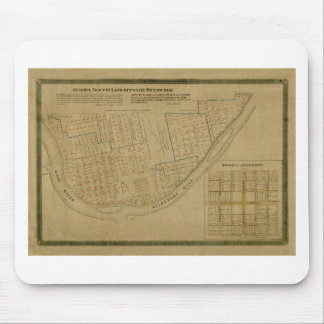 Map Of Allegheny 1863 Mouse Pad