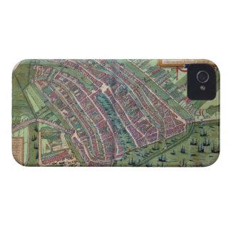 Map of Amsterdam, from 'Civitates Orbis Terrarum' Case-Mate iPhone 4 Cases