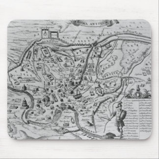 Map of Ancient Rome Mouse Pad