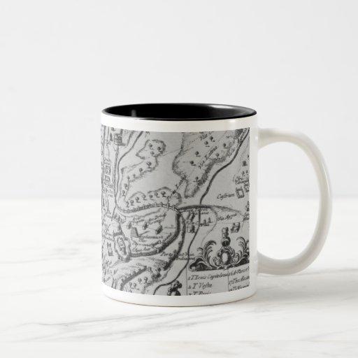 Map of Ancient Rome Coffee Mug