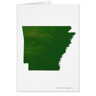 Map of Arkansas Card