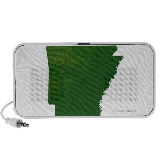 Map of Arkansas iPod Speaker