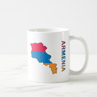 Map Of Armenia Coffee Mug