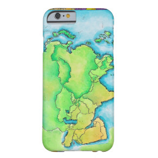 Map of Asia Barely There iPhone 6 Case