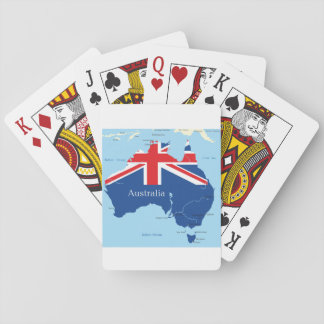 Map Of Australia Playing Cards