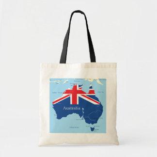 Map Of Australia Tote Bag