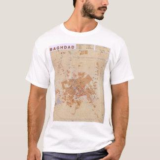 Map of Baghdad, Iraq (2003) T-Shirt