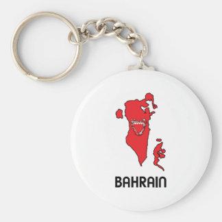 Map Of Bahrain Key Ring