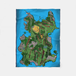 Map of Batavina Blanket! Fleece Blanket