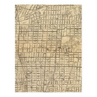Map of Berkeley, California Postcard