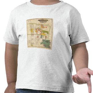 Map of Berkeley Tshirts